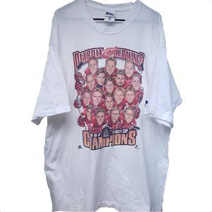 Vintage Detroit Red Wings 1997 Stanley Cup T-Shirt
